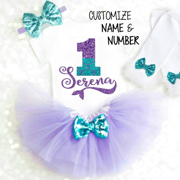 MERMAID BIRTHDAY OUTFIT - ANY AGE