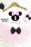 MOUSE BIRTHDAY TUTU OUTFIT - Minnie Mouse Birthday Outfit