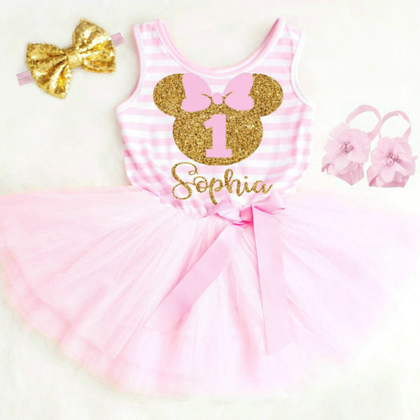 MOUSE BIRTHDAY DRESS