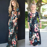 Mommy & Me Floral Dress Set