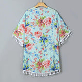 Mommy and Me Floral Kimono
