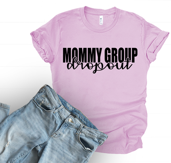 Mommy Group Dropout Tee