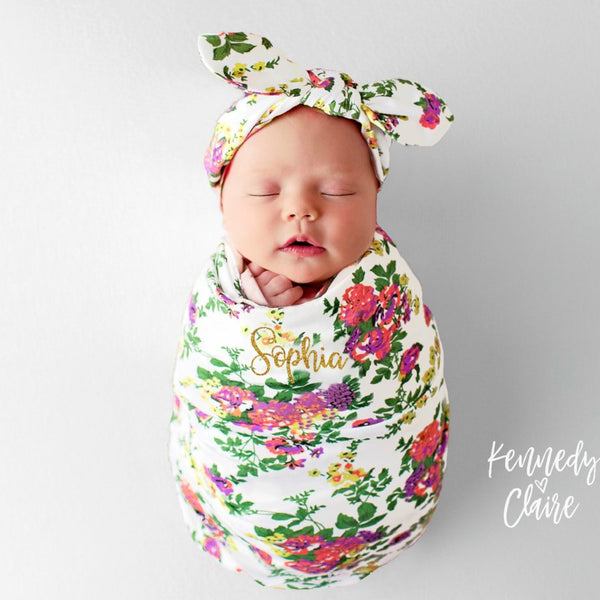 b7e6831bc8c Personalized Baby Blanket For Girls