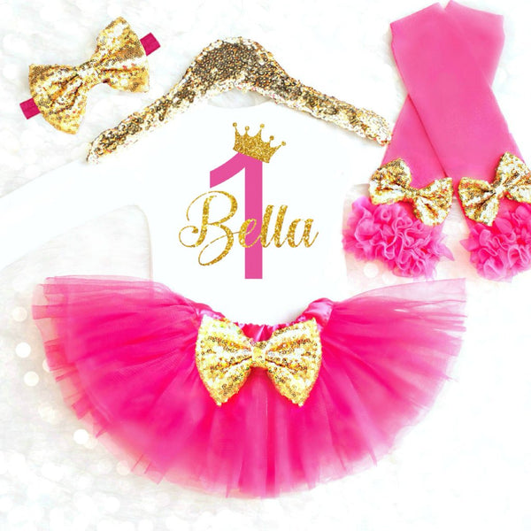 PERSONALIZED PRINCESS BIRTHDAY OUTFIT