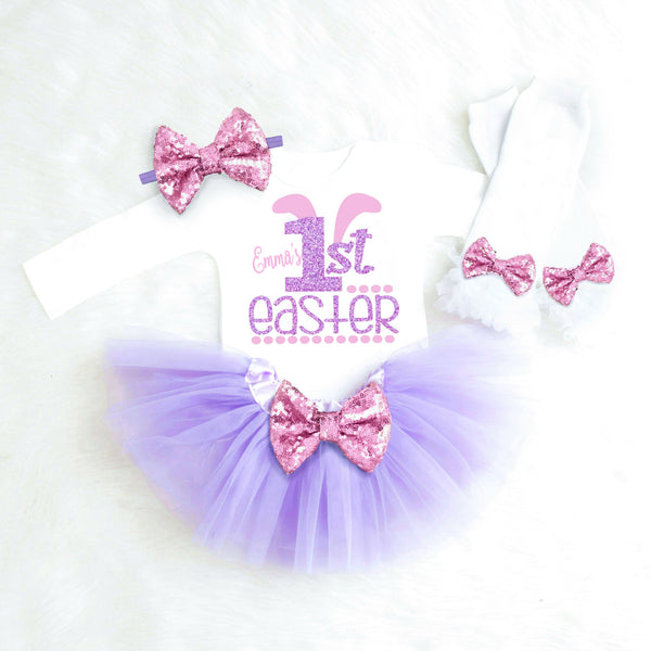 Girls First Easter Outfit