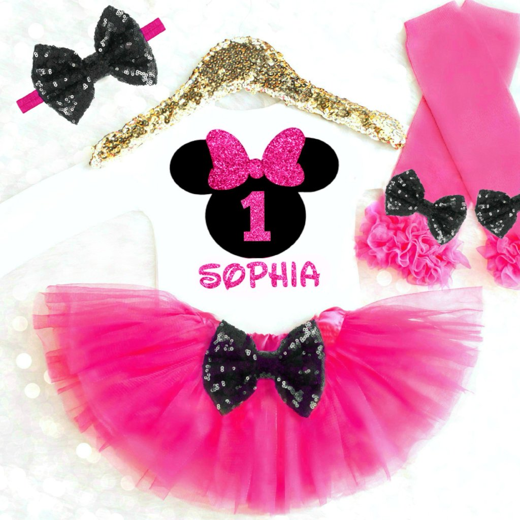 MOUSE 1ST BIRTHDAY OUTFIT