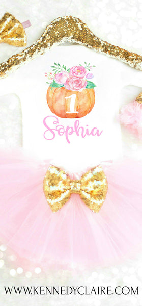 PUMPKIN BIRTHDAY OUTFIT