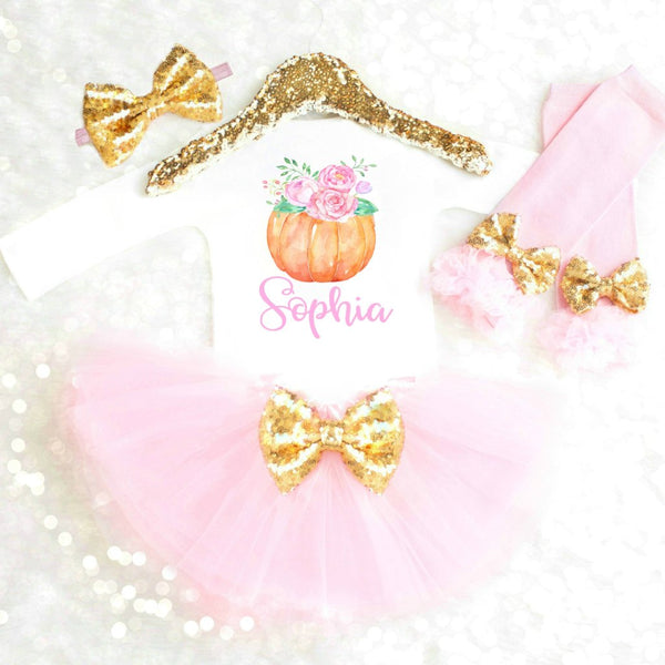 PERSONALIZED PUMPKIN OUTFIT