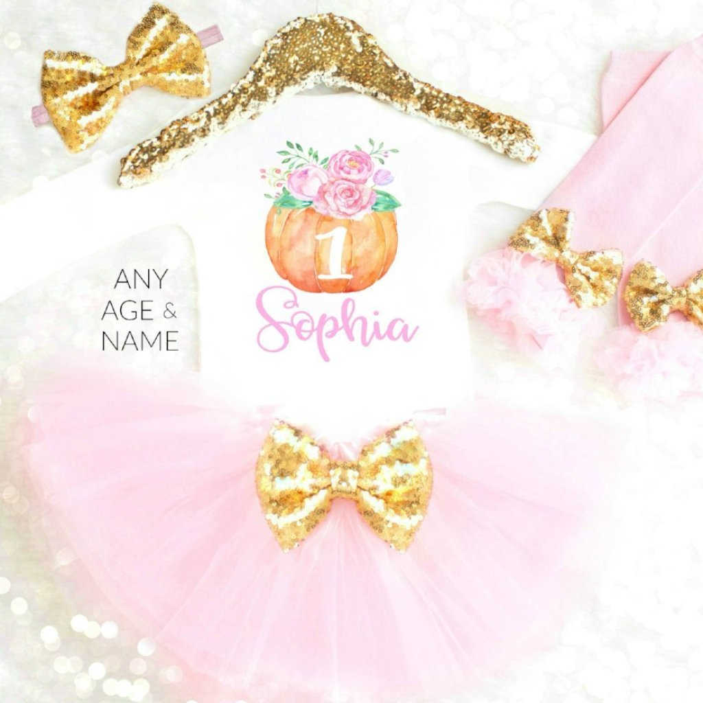3625131b5 Personalized Thanksgiving Outfits Baby Girl 1st Thanksgiving Outfit