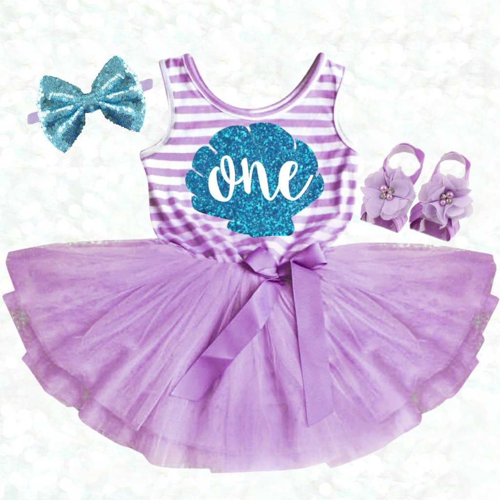Mermaid BIRTHDAY DRESS