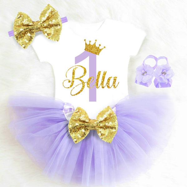 PURPLE AND GOLD BIRTHDAY OUTFIT