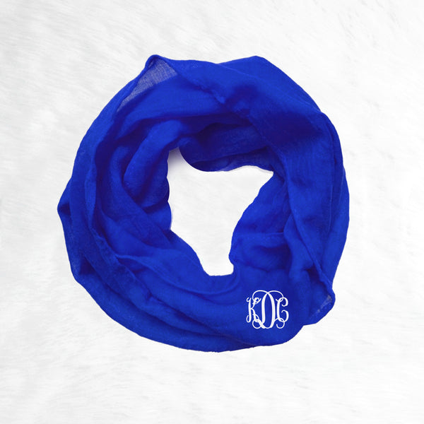 Toddler Infinity Scarf - Royal Blue