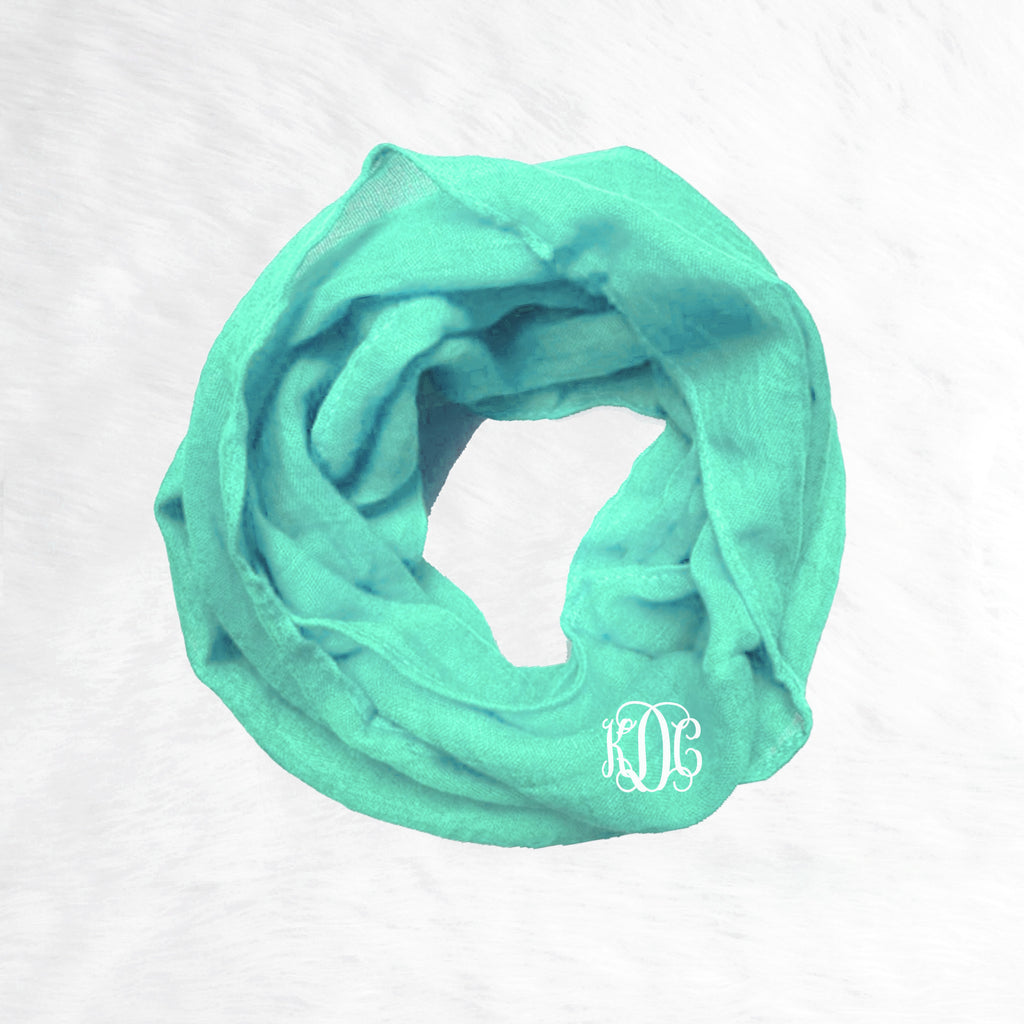 Toddler Infinity Scarf - Mint