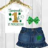 1st St Patrick's Day Outfit
