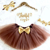 Baby Girl 1st Thanksgiving Tutu Outfit