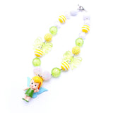 Tinkerbell Necklace - Minnie Mouse Birthday Outfit