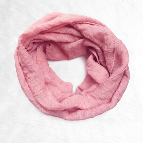 Toddler Infinity Scarf - Blush