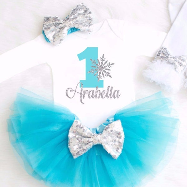 FROZEN BIRTHDAY OUTFIT