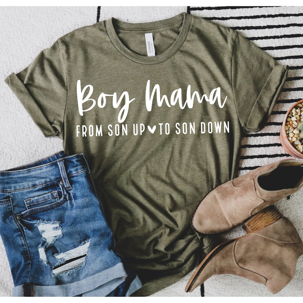 Boy Mama from Son up to Son Down Tee