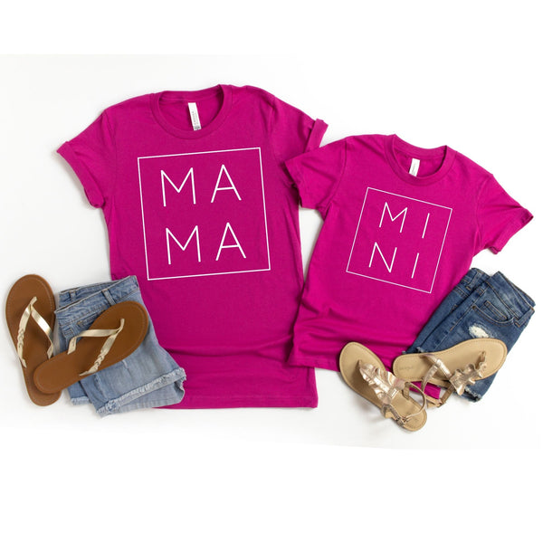 Mama and Mini Matching Tee
