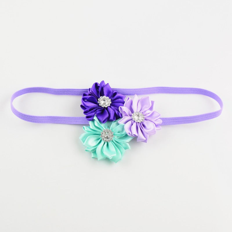 Mermaid Floral Headband