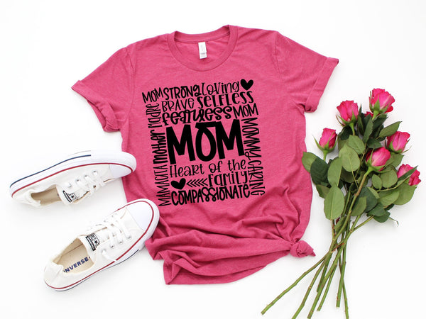 Mom Description Tee