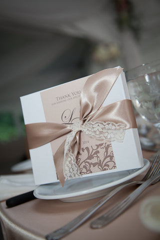 Wedding Stationery - Thank You Favour Tags - Barrie & GTA Weddings