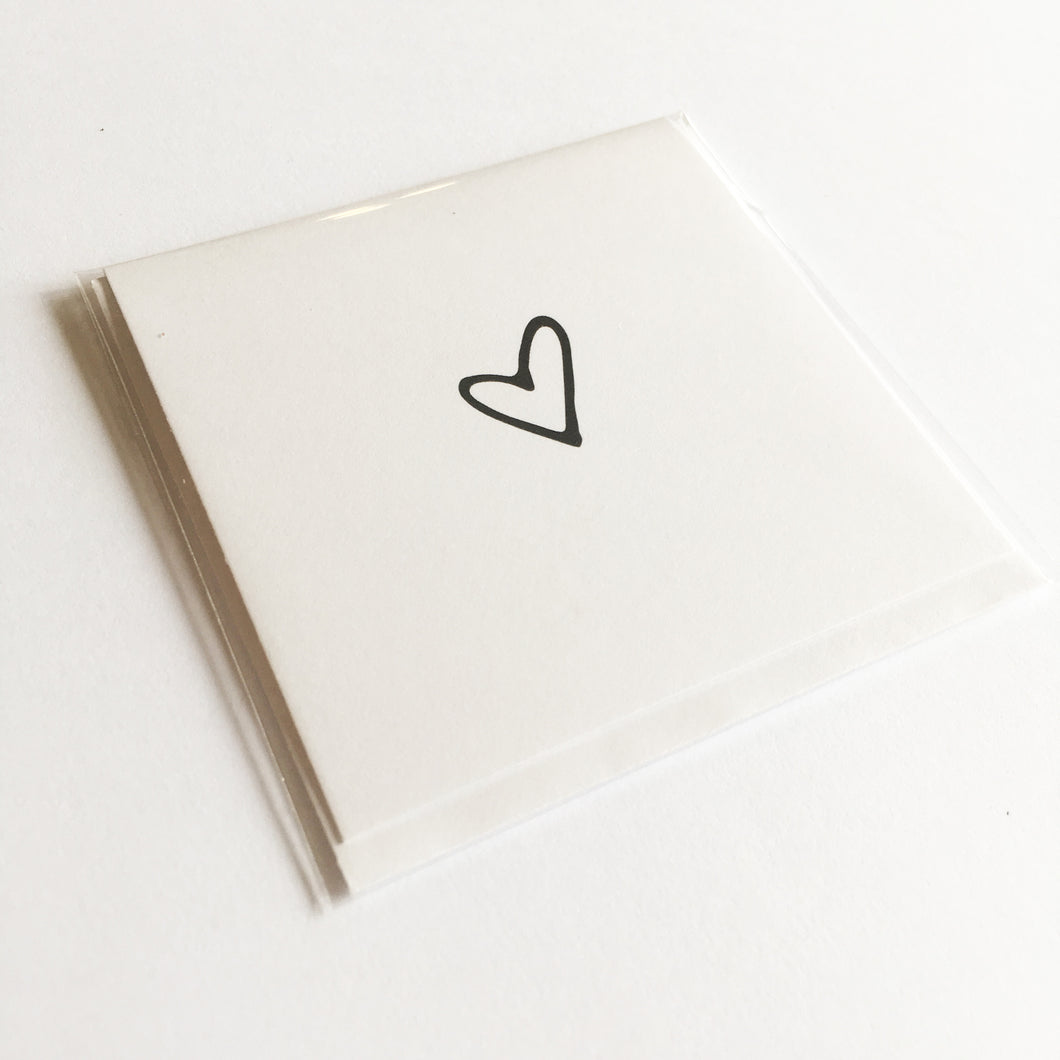 Little Heart - Small Card
