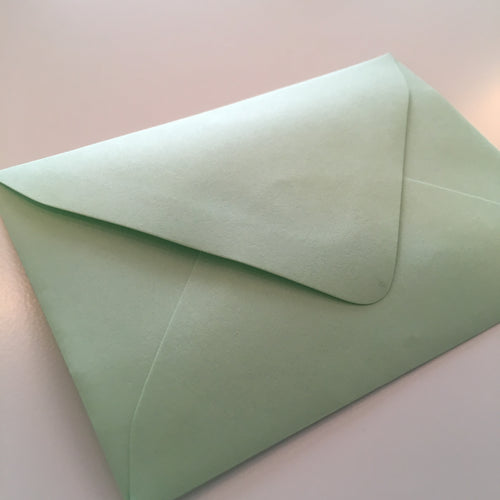 Spearmint A1 Envelope