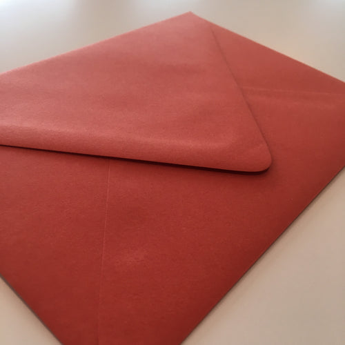 Tangy Orange A7 Envelope