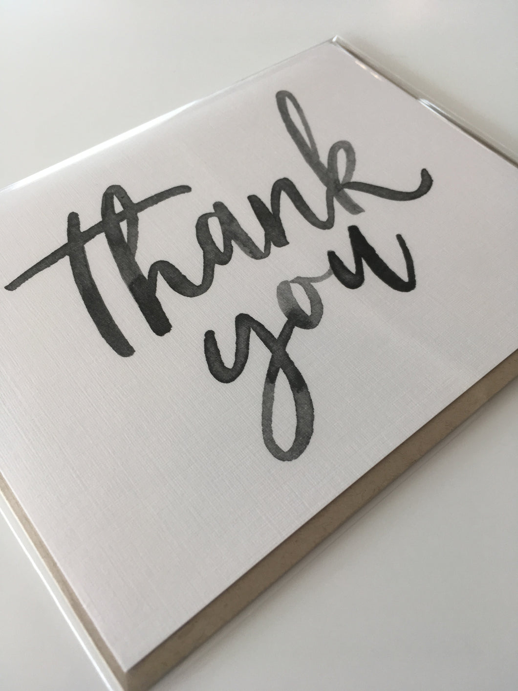 Thank You (Brush Script)