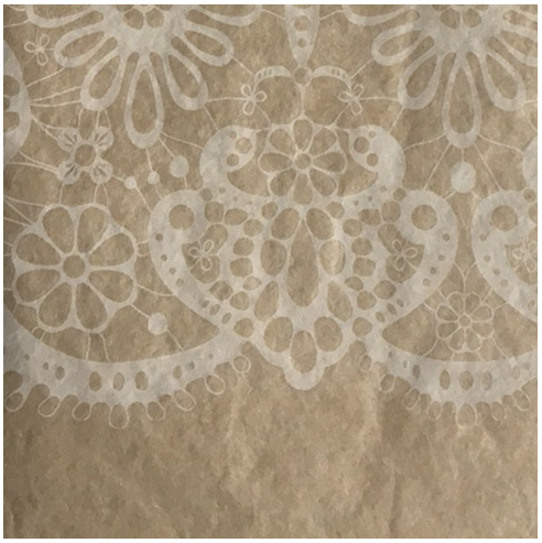 Kraft Lace Tissue Paper