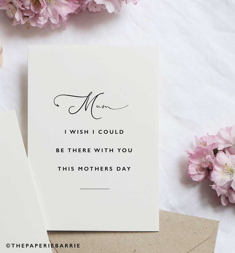 COVID Collection - Wish I Could Be With You This Mothers Day