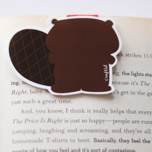 Beaver - Magnetic Bookmark (Jumbo)