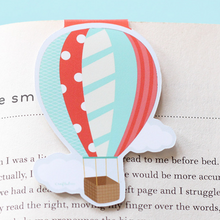 Hot Air Balloon - Magnetic Bookmark (Jumbo)