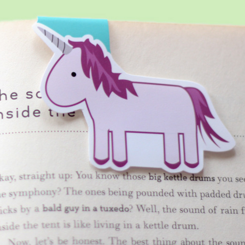 Unicorn - Magnetic Bookmark (Jumbo)