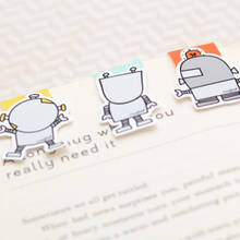 Robots  - Magnetic Bookmark (Mini)