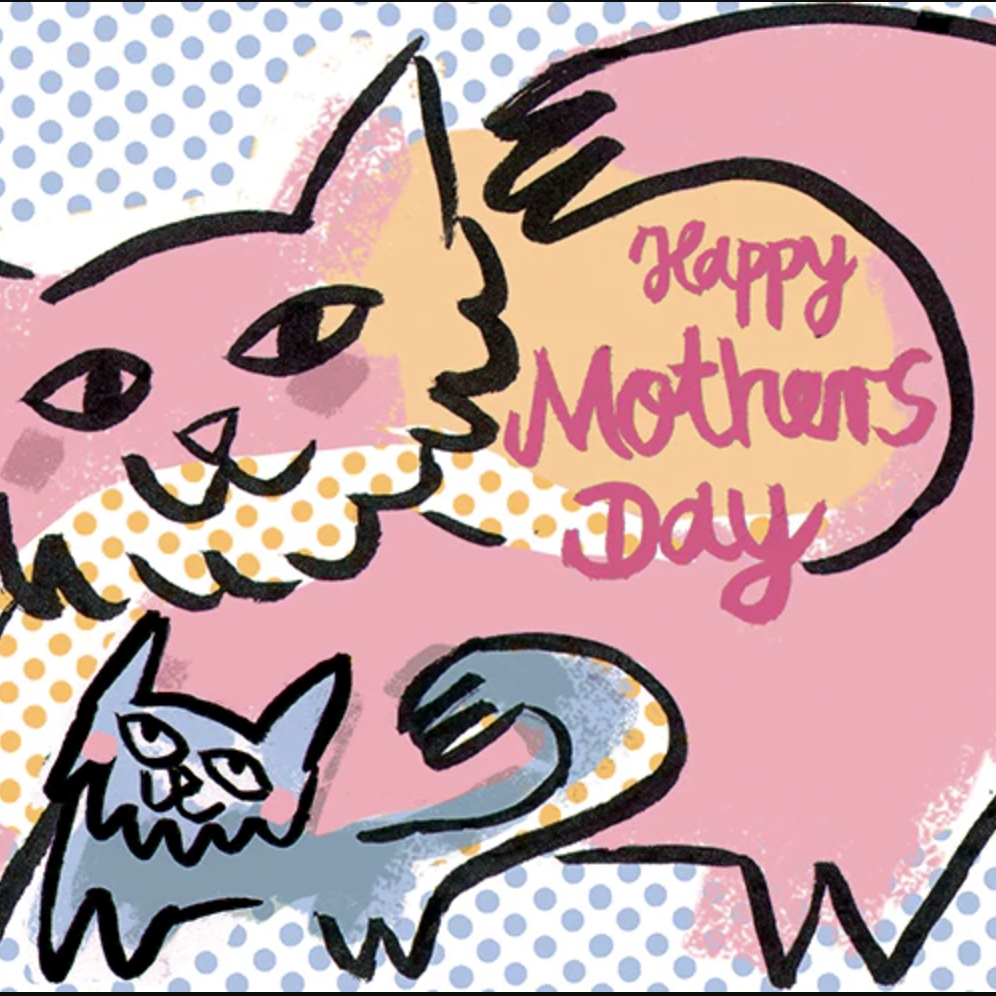Happy Mother's Day (Cats) - Greeting Card