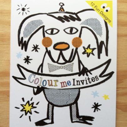 Colour Me, Party Invites