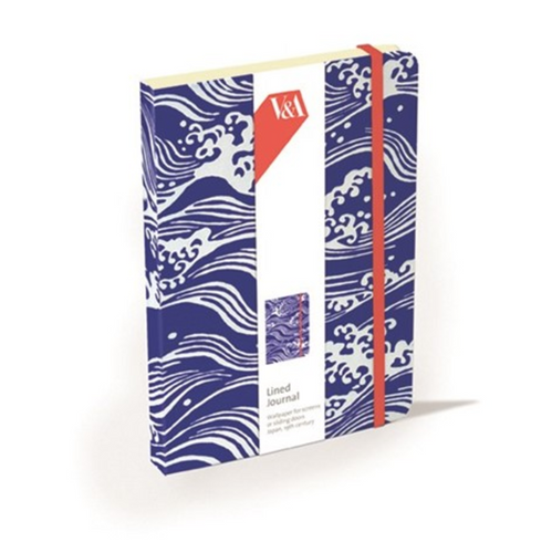 Japanese Blue Waves Notebook