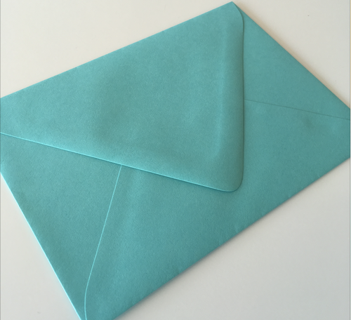 Blu Raspberry A7 Envelope