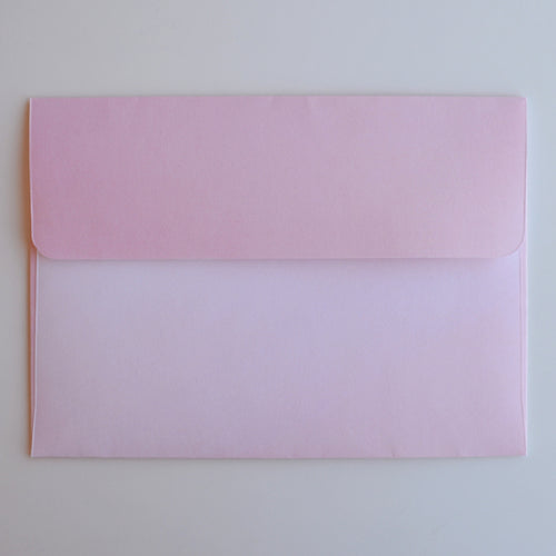 Ombre Blush A7 Envelope