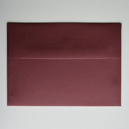 Burgundy Matte A7 Envelope