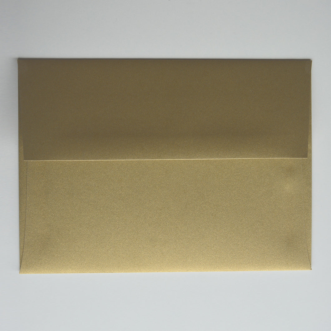 Gold Leaf A1 Envelope