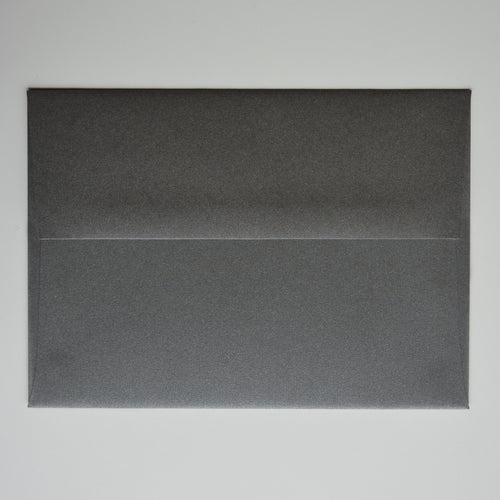 Graphite Metallic A7 Envelope