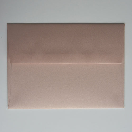 Nude Metallic A1 Envelope