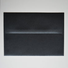 Onyx Black Metallic A7 Envelope