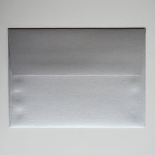 Silver Metallic A7 Envelope