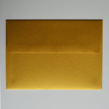Super Gold Metallic A7 Envelope