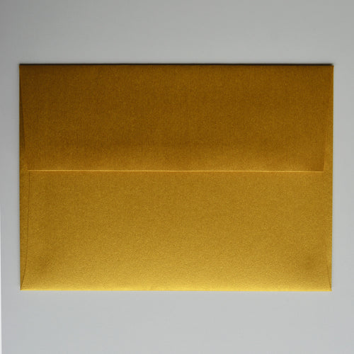 Super Gold Metallic A1 Envelope
